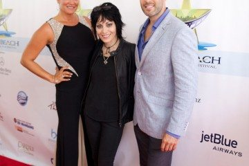 Co-founders Ingrid Dodd and Craig Weintraub with Joan Jett