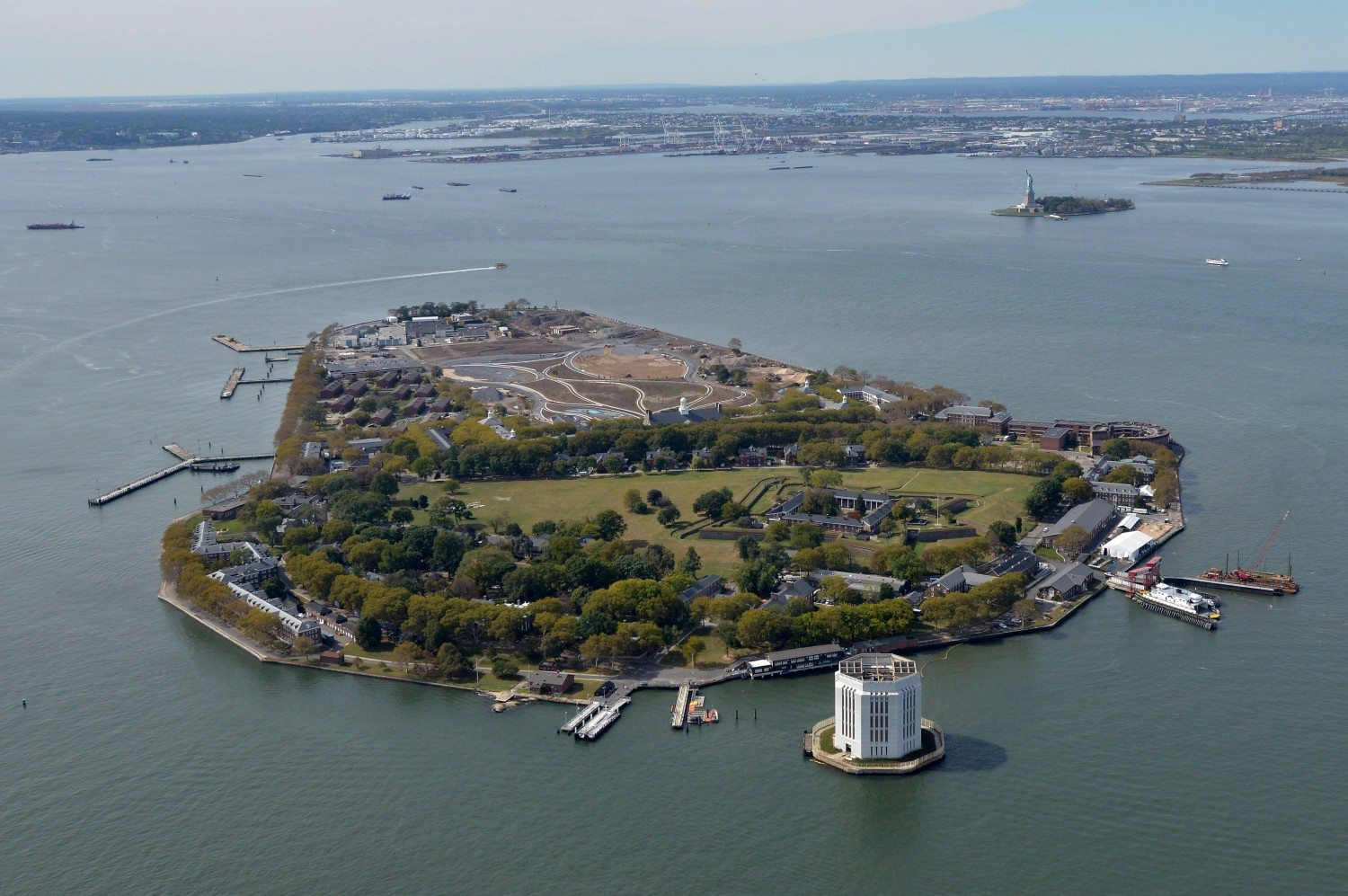 Governors Island Park In New York City
