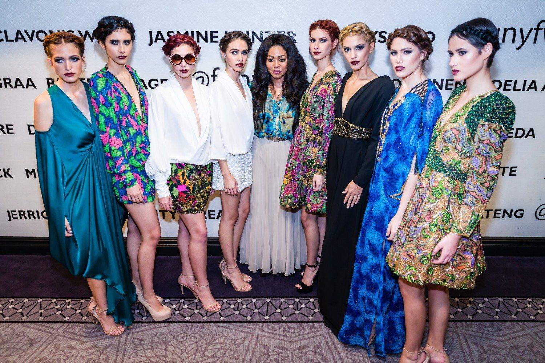 """Esé Azénabor Wows Fashion Week with """"Garden of Eden"""" Showcase, SS '16"""