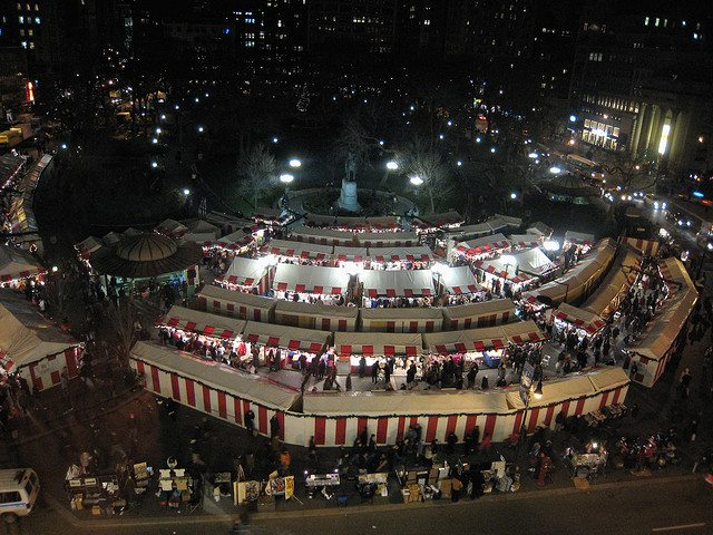 Union Square Holiday Market Gets Upgraded!