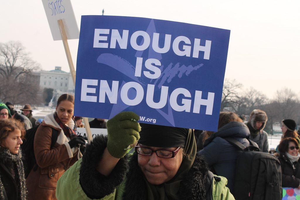 The Gun Issue: Enough