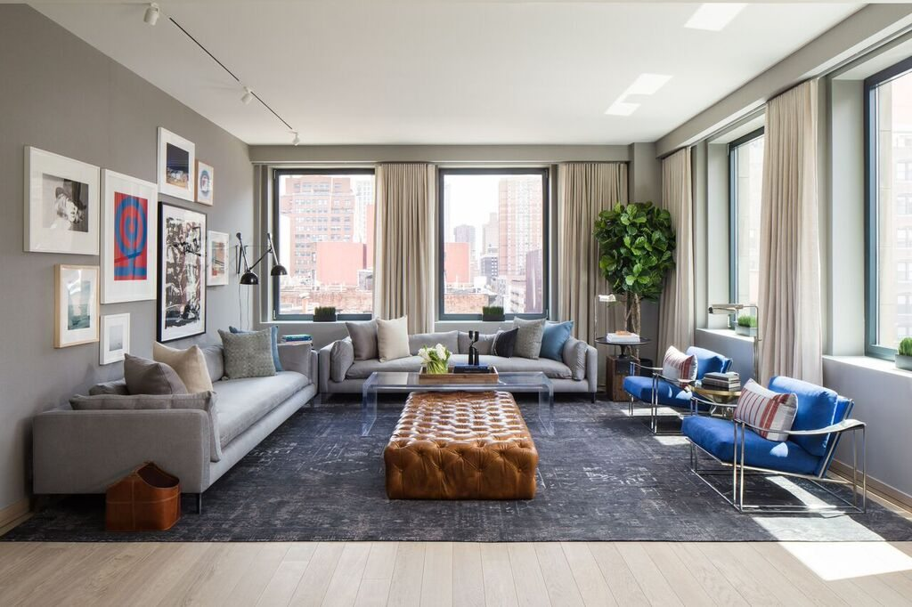 Interior of the residences at 88 & 90 Lex