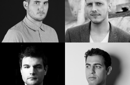 Pictured top L to R: Andrew Bayer, ilan Bluestone; bottom L to R: Grum, Jason Ross. Photo courtesy of Anjuabeats Records