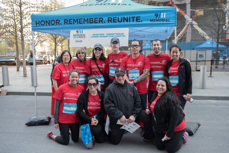 New York-Presbyterian/Lower Manhattan Hospital sponsors 9/11 Memorial 5K Run/ Walk