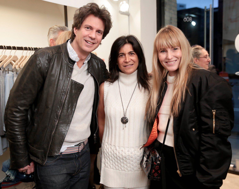 Adam Glassman, Catherine Zadeh and Amy Astley