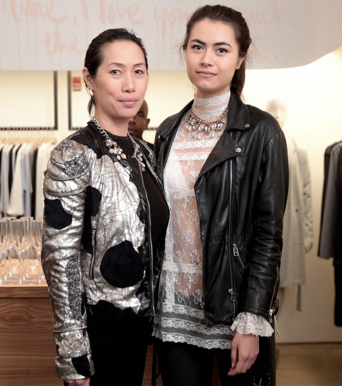 Jessica Tan and Anna Gudnason
