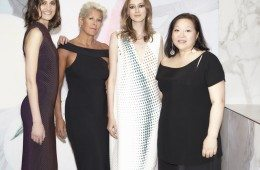 Mi Jong Louise and models
