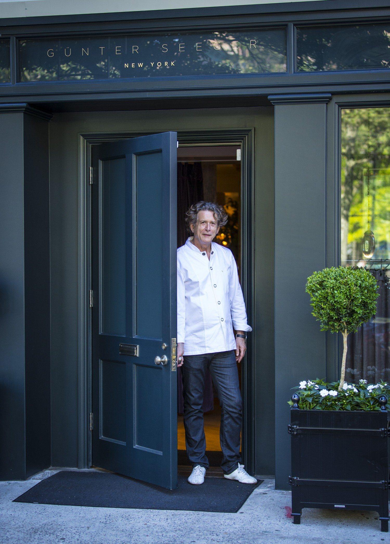 Chef Günter Seeger - Photo by Brian Bloom