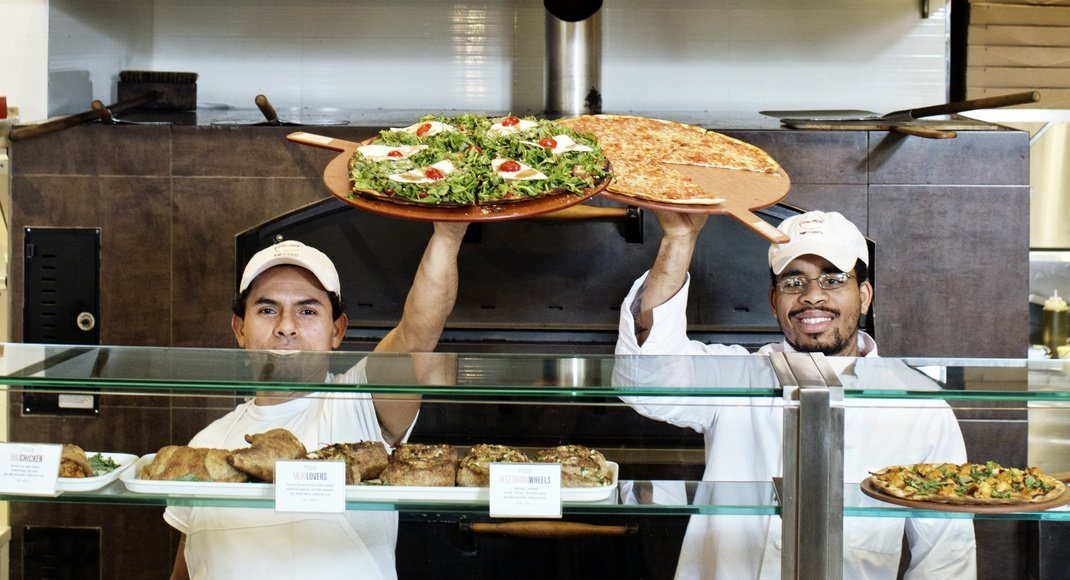 Skinny Pizza: Big Flavor