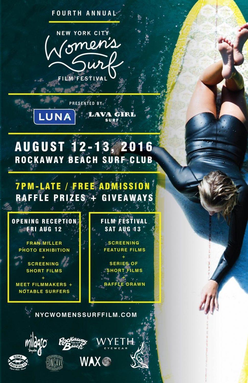 Filmmaker & Creative Director Davina Grincevicius on the 4th Annual NYC Women's Surf Film Festival