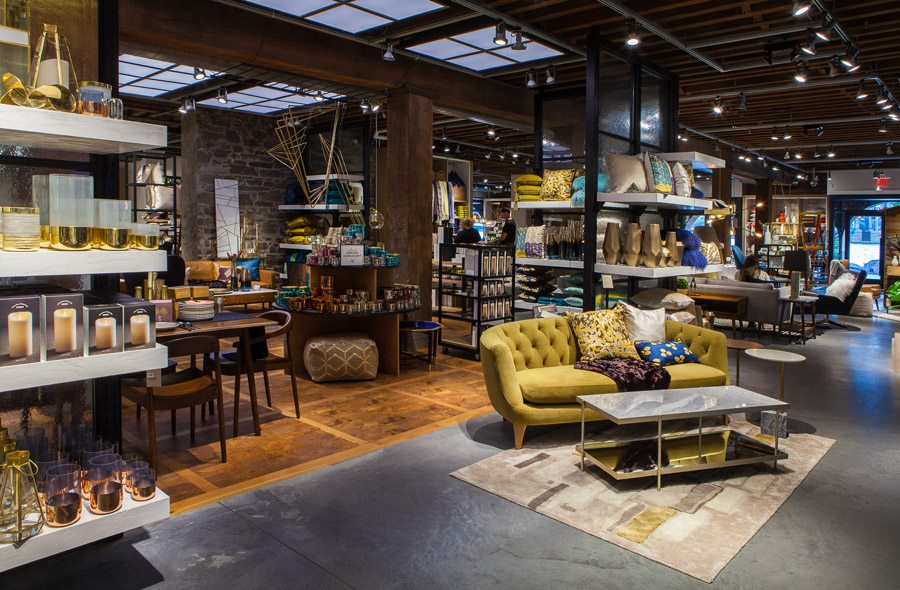 west elm relocates its headquarters opens its 100th retail store
