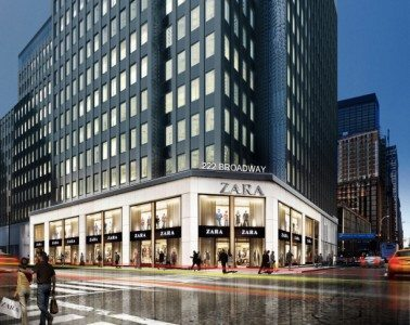 Rendering Of 222 Broadway, Zara's New Home