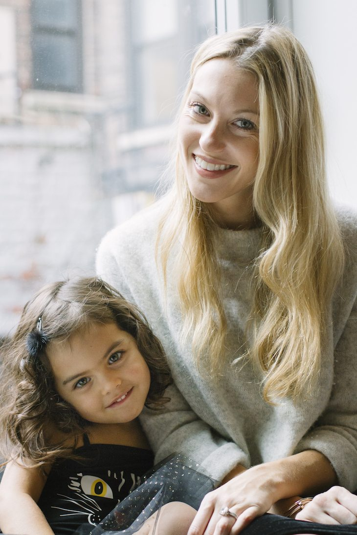 Hello Sitter founder Lauren Mansell & daughter