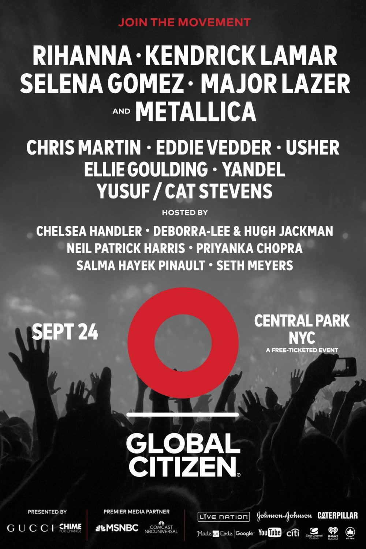 Global Citizens Festival's Jeffrey Zarnow talks Sept. 24, Starr Rum's anniversary and more