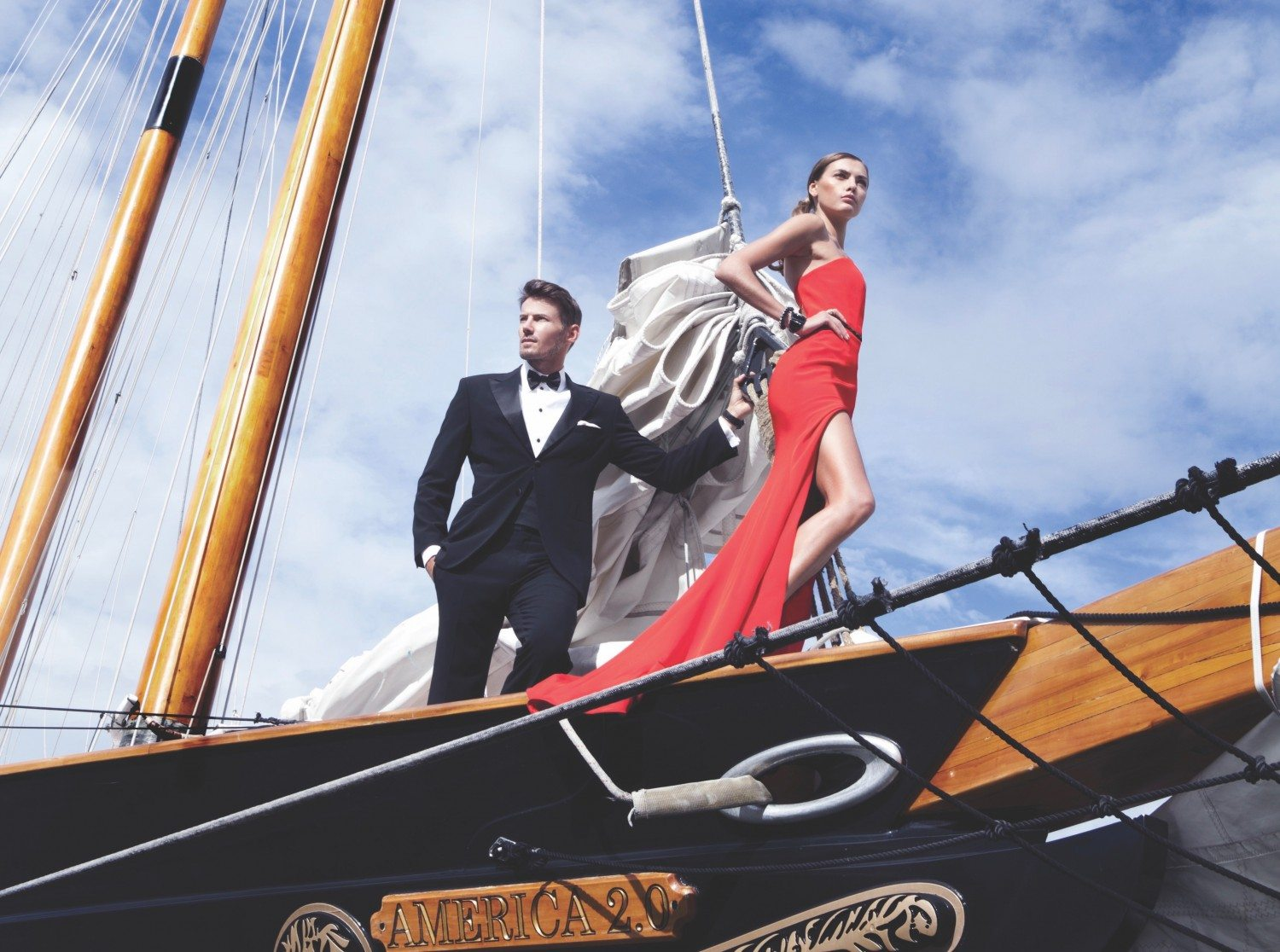 Sailing the Hudson in Style