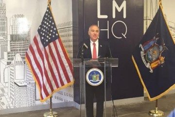 New York State Comptroller Thomas P. DiNapoli / Photo by Grace A. Capobianco