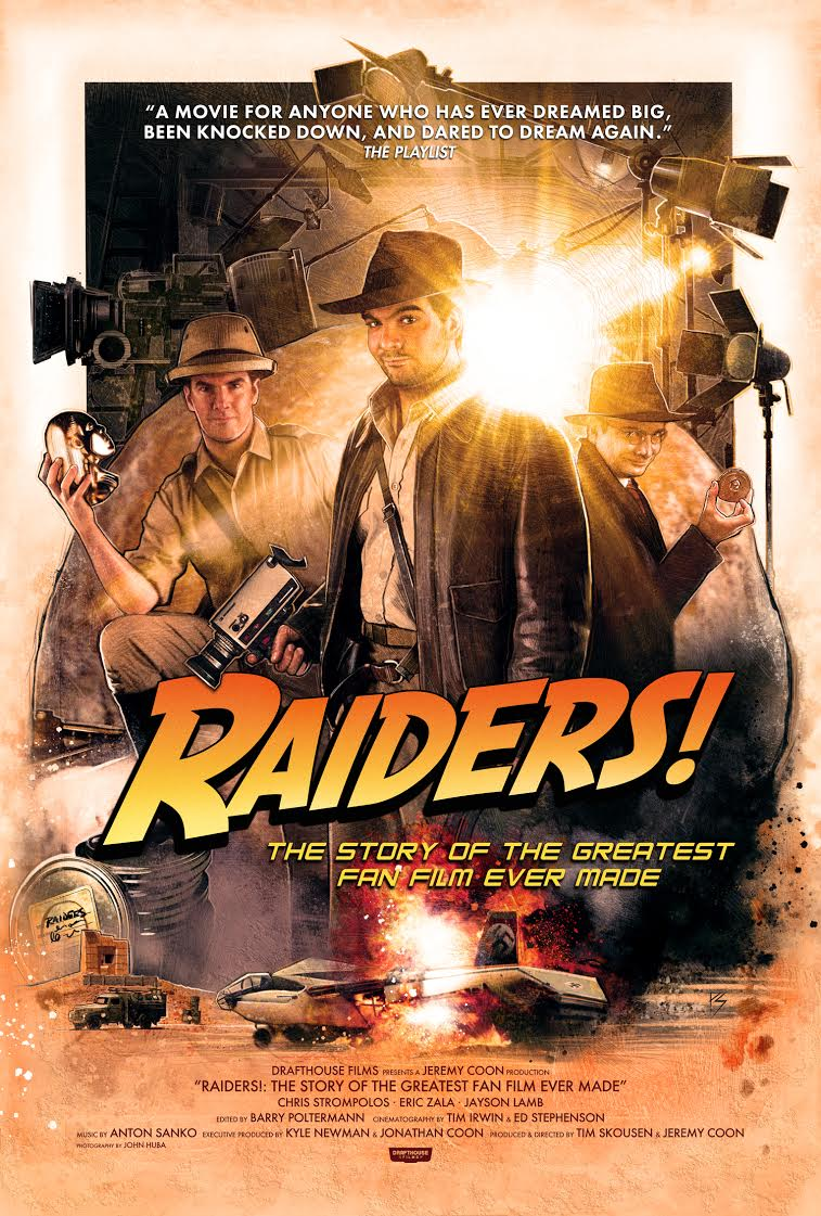 """Chris Strompolos on the """"Raiders of the Lost Ark: The Adaptation,"""" Steven Spielberg and more"""