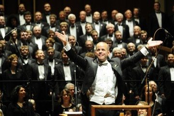 Indianapolis Symphonic Choir with the Indianapolis Symphony Orchestra. Saturday, May 5, 2012. (Photo/Tom Russo)