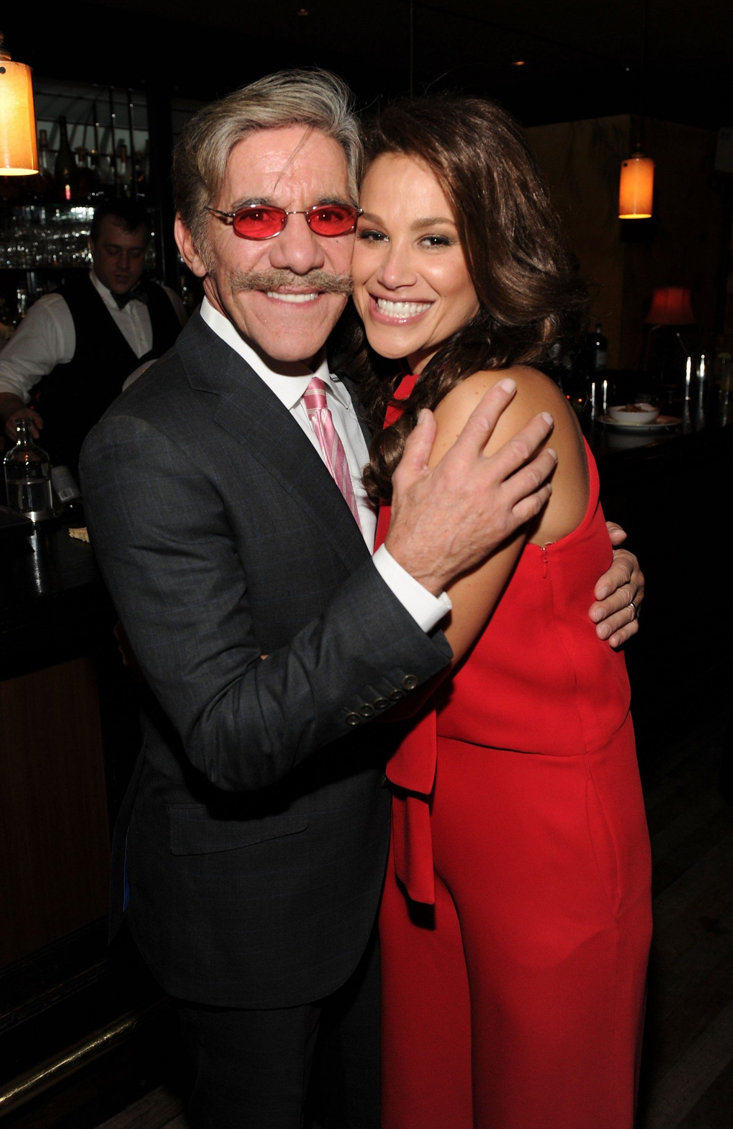 Geraldo and wife Erica / Photo: Craig Barritt/Getty Images