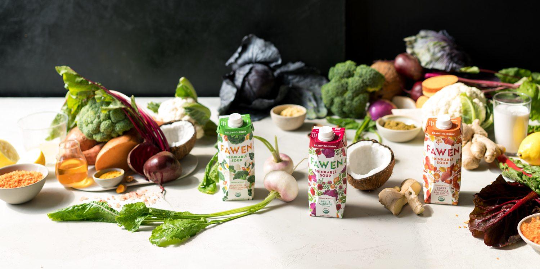 FAWEN's Fabio Fossati & Amanda Bowen on their delicious, healthy & ready-to-drink soups