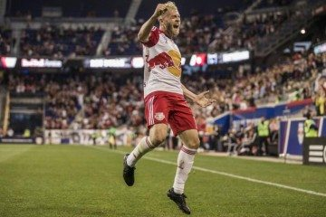 New York Red Bulls' Mike Grella