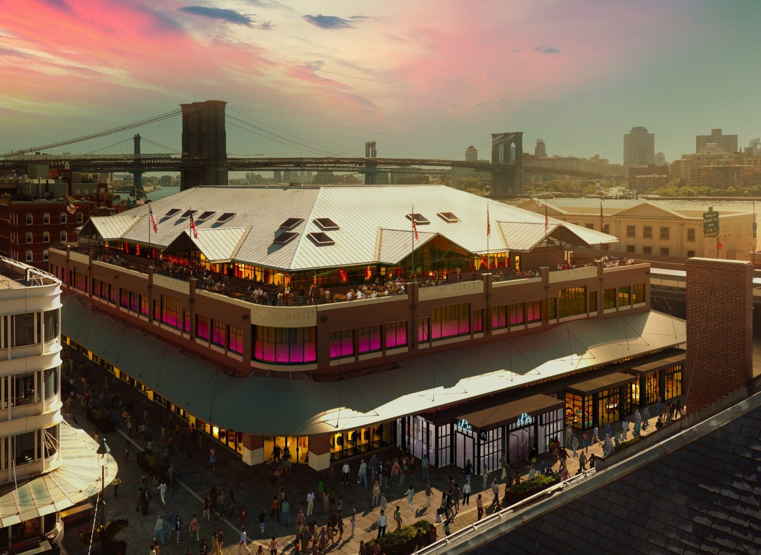 iPic Theaters Fulton Market_Seaport District NYC_Rendering
