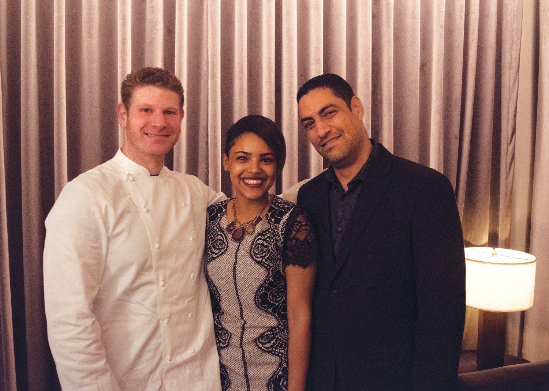 Chef Adam, Ashley & Rachid of Metropolis