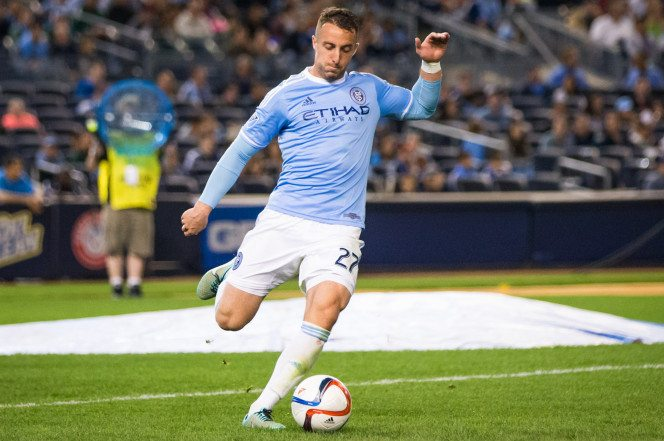RJ Allen of NYCFC / Photo courtesy of NYCFC