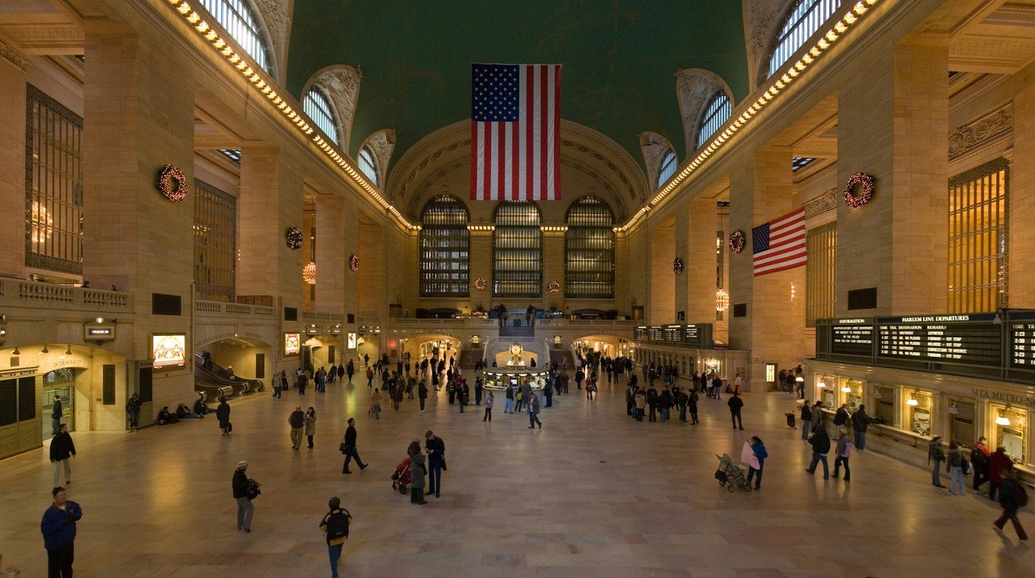 Expect lots of holiday fun at Grand Central Terminal