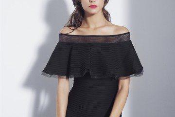 Tabora Off-Shoulder Gown