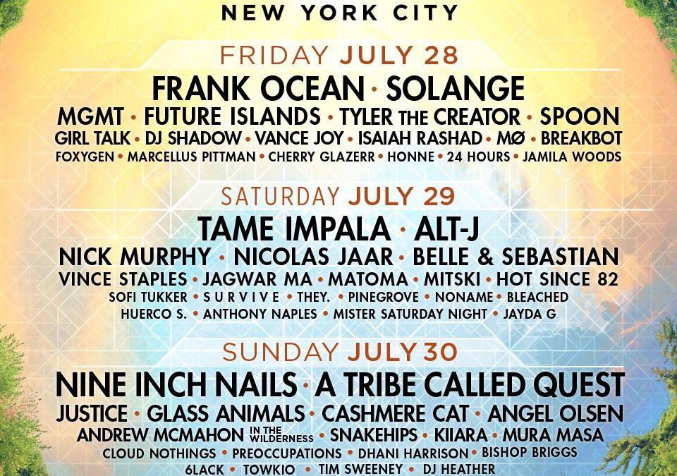Panorama returning to New York from Jul. 28 through Jul. 30, headliners announced