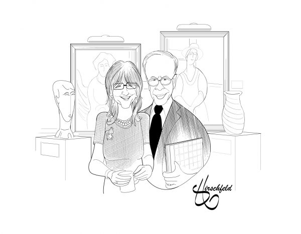 Elie Hirschfeld Celebrates Old and New Line Kings