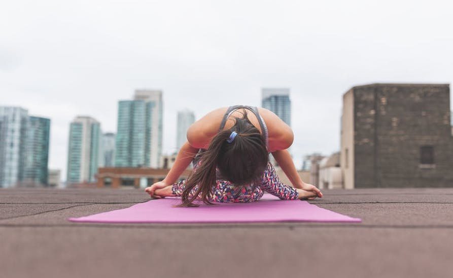 Fitness Friday: Outdoor Yoga