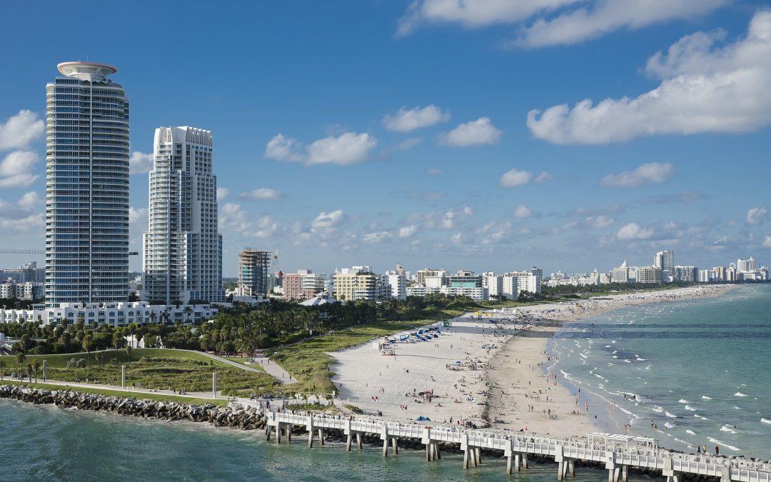 Biking Through Miami