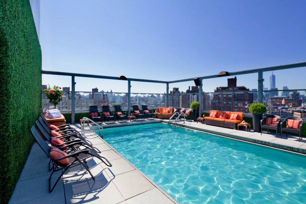 Gansevoort NYC Scenic Pool
