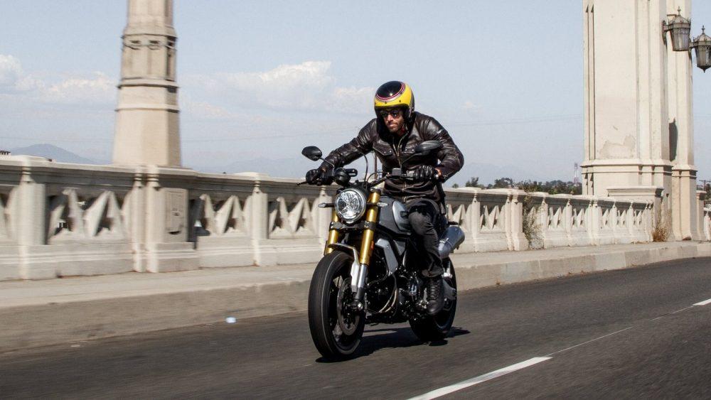 Ducati Scrambler 1100 Action Shot