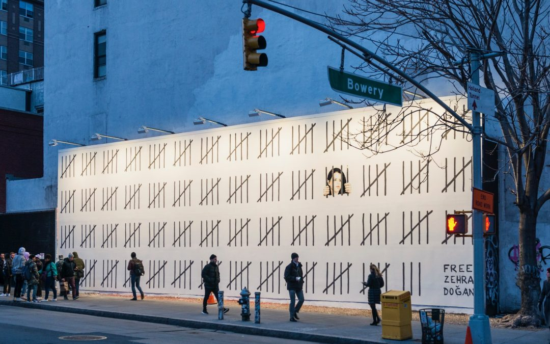 Banksy Comes to the Famous Houston Bowery Wall