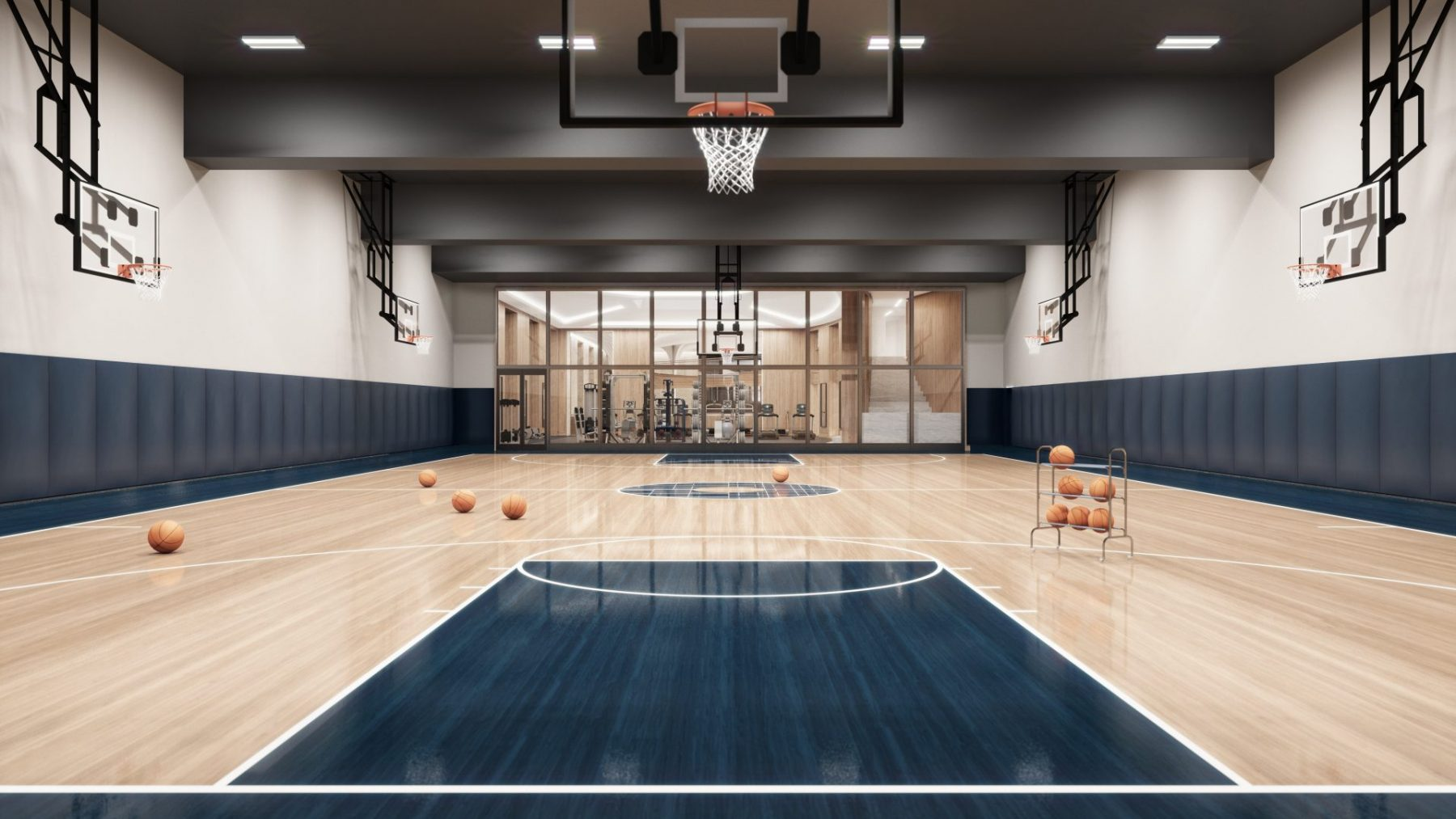 March Madness Is Here A Look Inside The Dreamiest Residential Basketball Courts In New York City Downtown Magazine