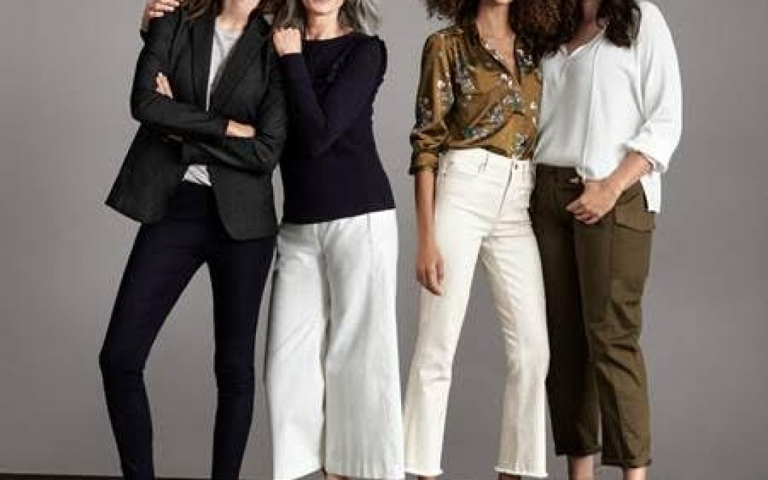 Pants Are Power, Ann Taylor New Campaign To Show Pants From Different Decade