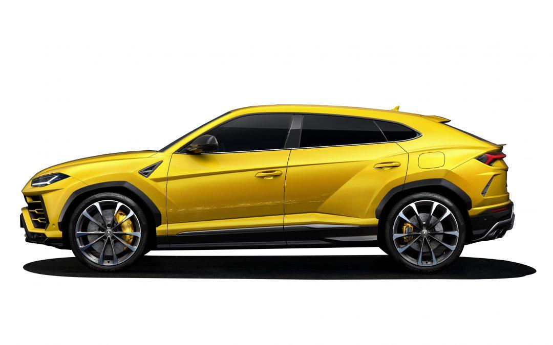 The New Lamborghini Urus SUV