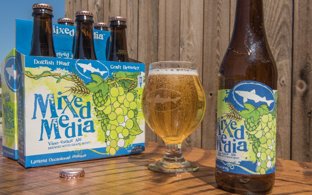 """Dogfish Head's """"Mixed Media"""" Blurs the Lines Between Beer and Wine"""