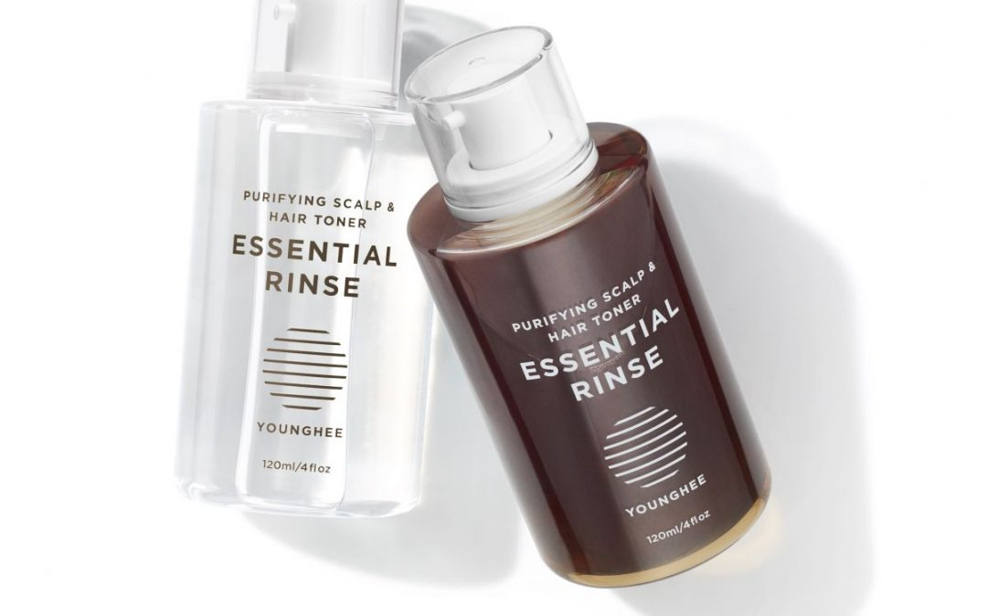Natural Hair Care is easy with Essential Rinse from Younghee Kim