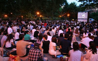 Films on the Green presents free French films for Bastille Week