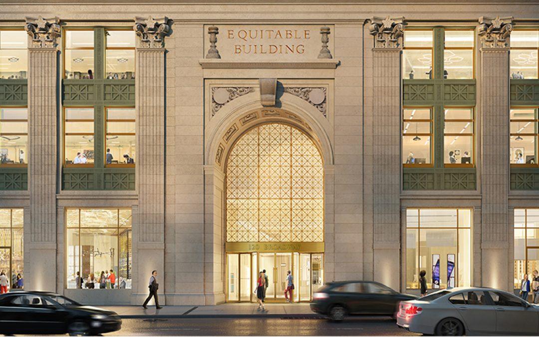 Equitable Building Returns to its Original Grandeur