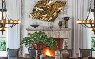 """In """"The New Glamour"""" Jeff Andrews' Star-Studded Interiors Fascinate"""
