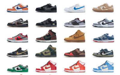 """""""Nike SB: The Dunk Book"""" Depicts a Fascinating History of Artful Footwear"""
