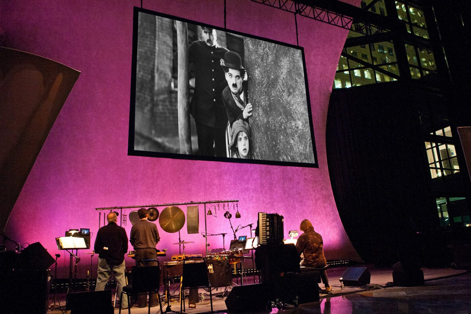 Silent Films/Live Music Series Returns to Brookfield Place