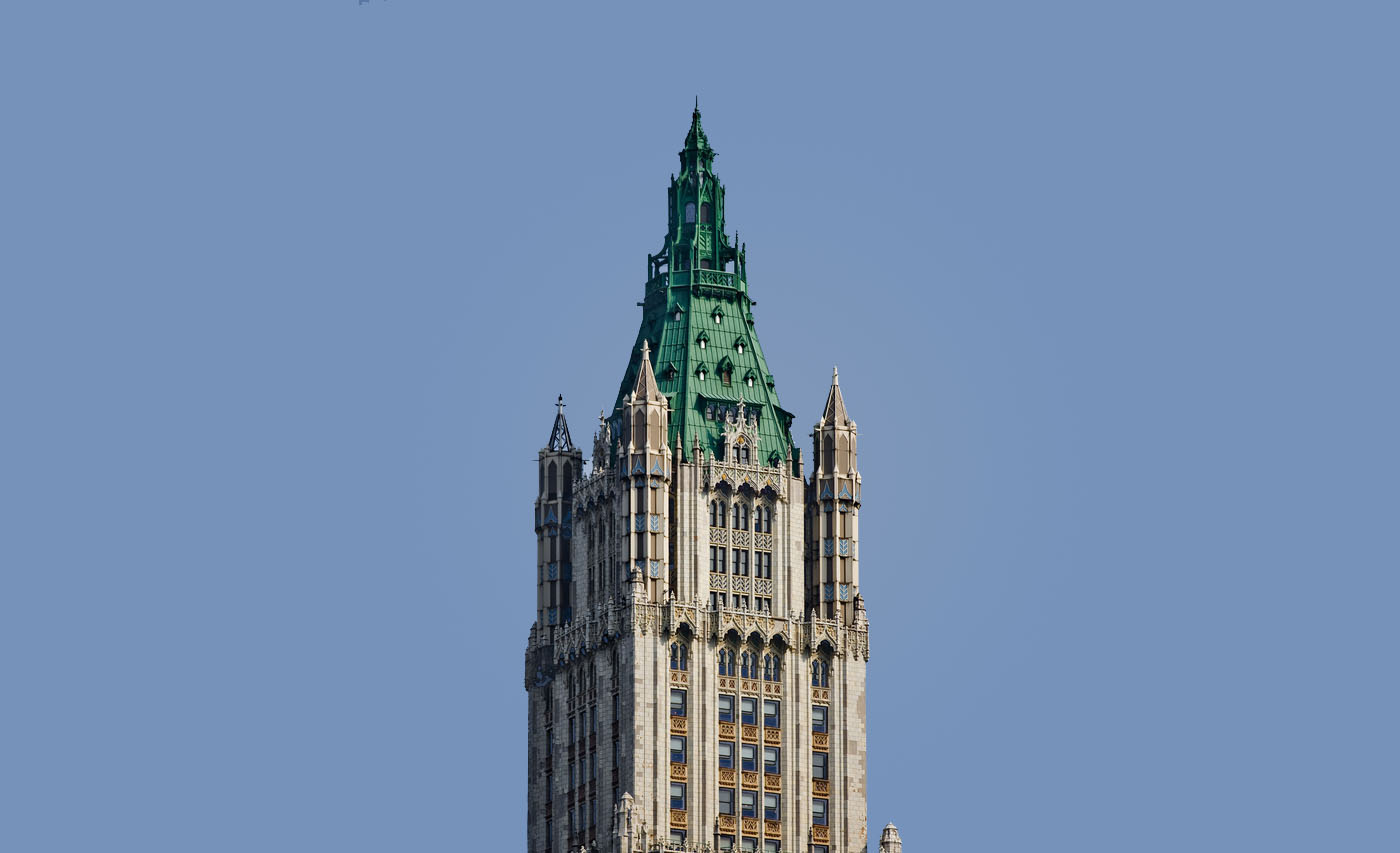 Woolworth Building Downtown NYC