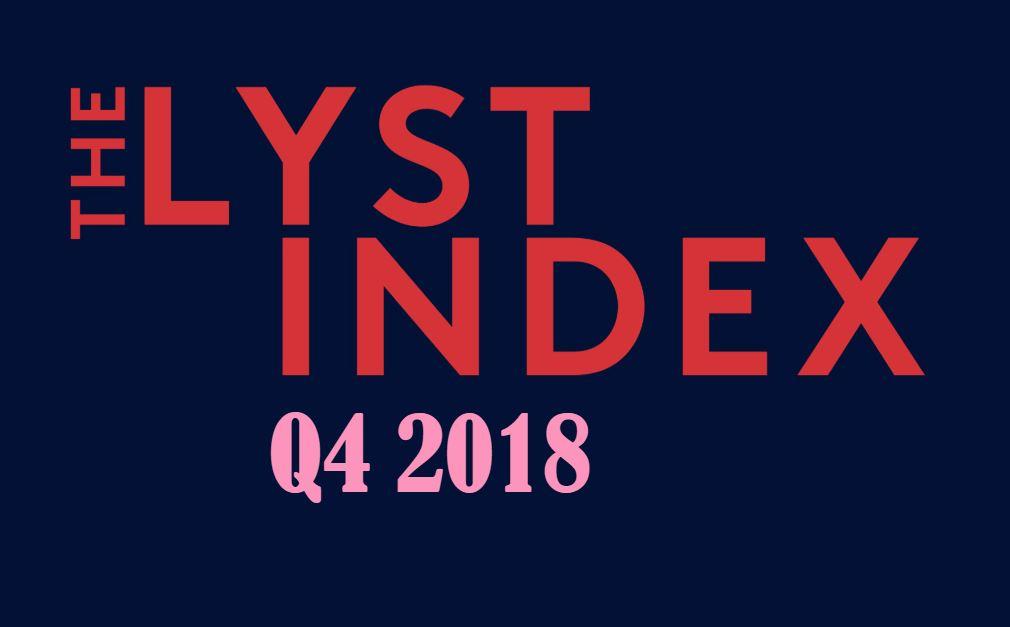 The Lyst Index Q4 2018