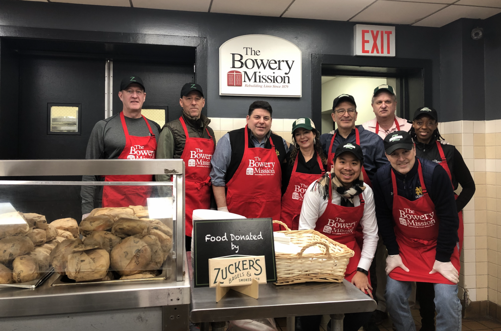 Zucker's Bagels Pledges 200,000 Bagels to The Bowery Mission